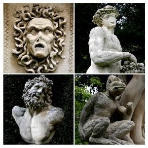The Statues of Belvoir Castle