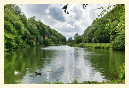 Creswell Crags Lake
