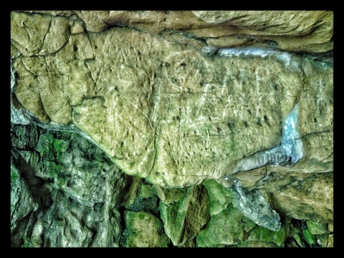 Creswell Crags Cave Art Stag