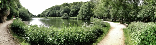 Creswell Crags Panorama