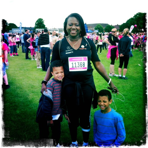Race For Life 2012 2